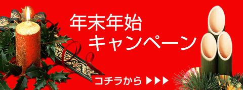 2018新年キャンペーン開催中!1/25(木)まで