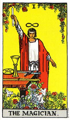 「魔術師」タロットカードの基本的意味と正位置・逆位置