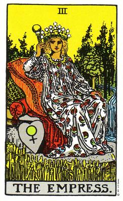 「女帝」タロットカードの基本的意味と正位置・逆位置