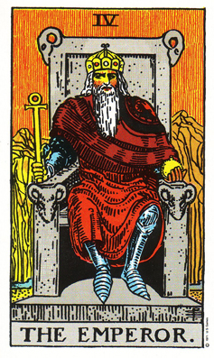 「皇帝」タロットカードの基本的意味と正位置・逆位置