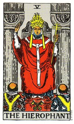 「法王」タロットカードの基本的意味と正位置・逆位置