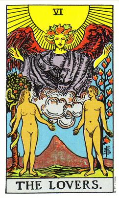 「恋人」タロットカードの基本的意味と正位置・逆位置