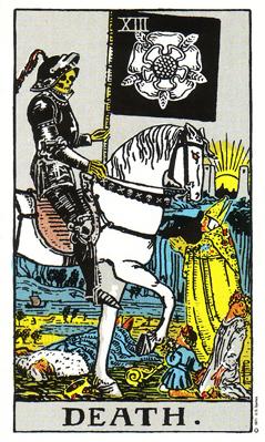 「死神」タロットカードの基本的意味と正位置・逆位置