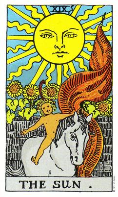 「太陽」タロットカードの基本的意味と正位置・逆位置